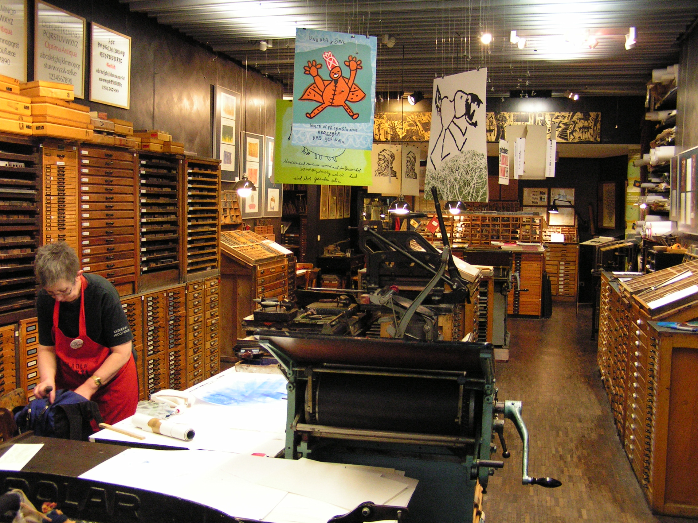 Druckladen Gutenberg Museum